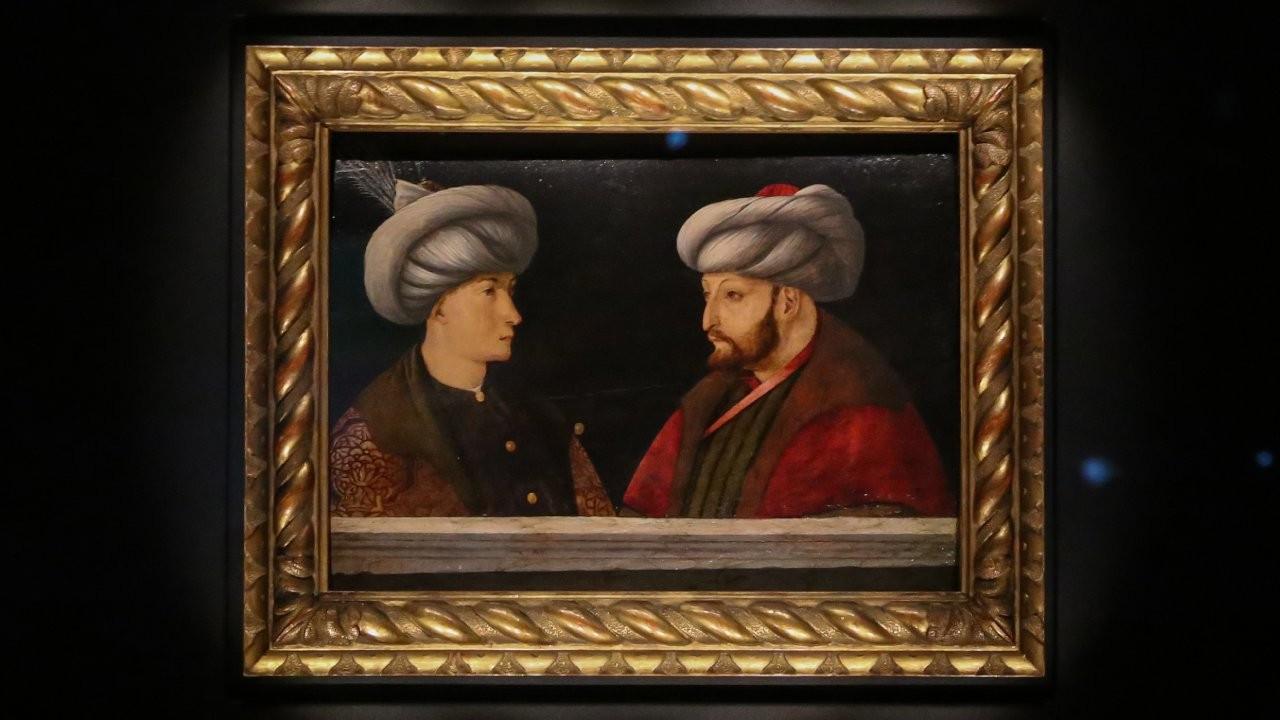 Fatih'in portresi ziyarete açıldı