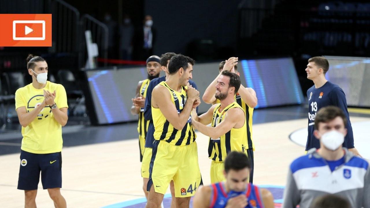 Euroleague'de Fenerbahçe, Anadolu Efes'i mağlup etti