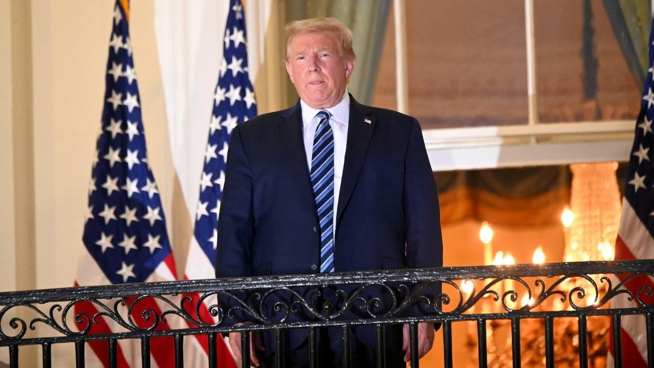 Tedavisi süren Trump seçim kampanyalarına devam edecek