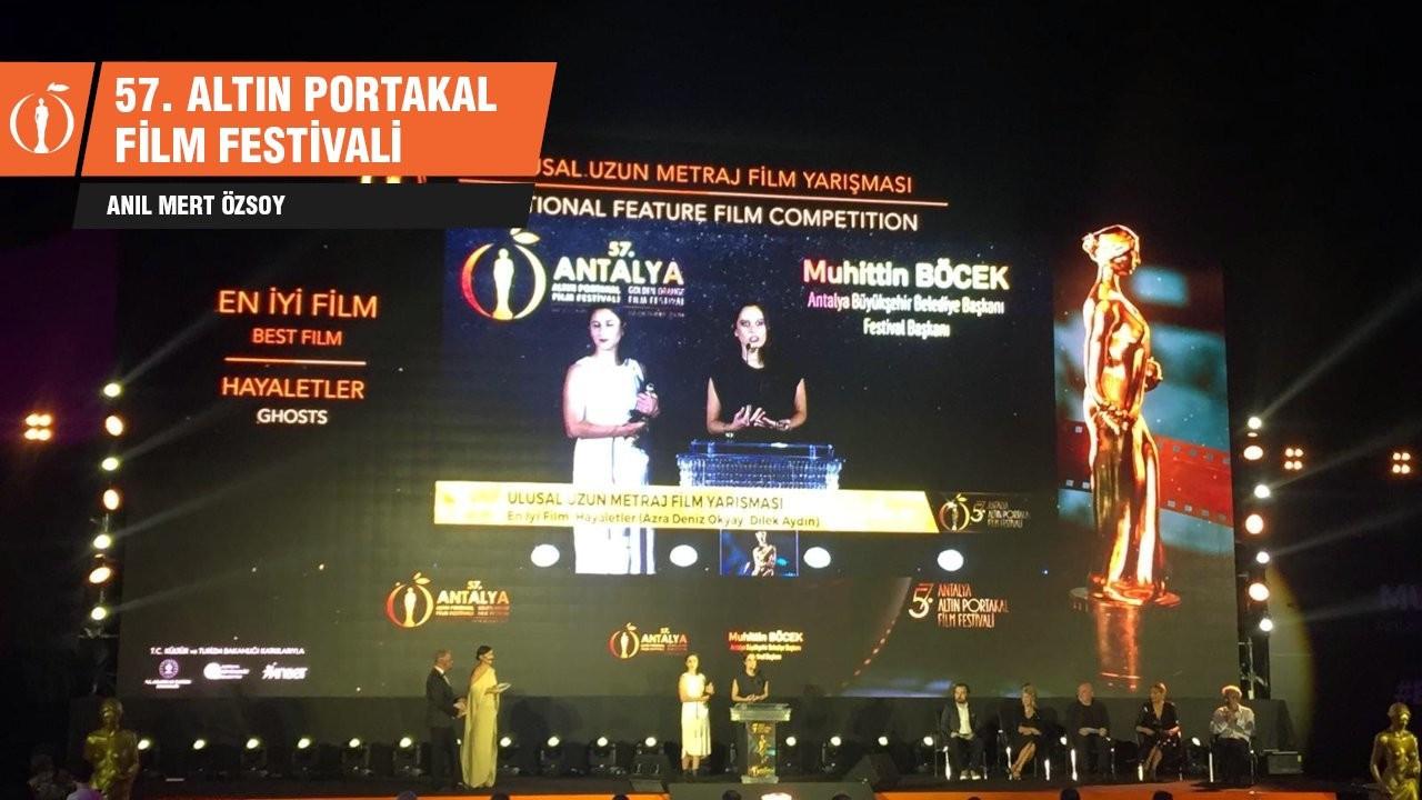 Altın Portakal'da En İyi Film Hayaletler oldu
