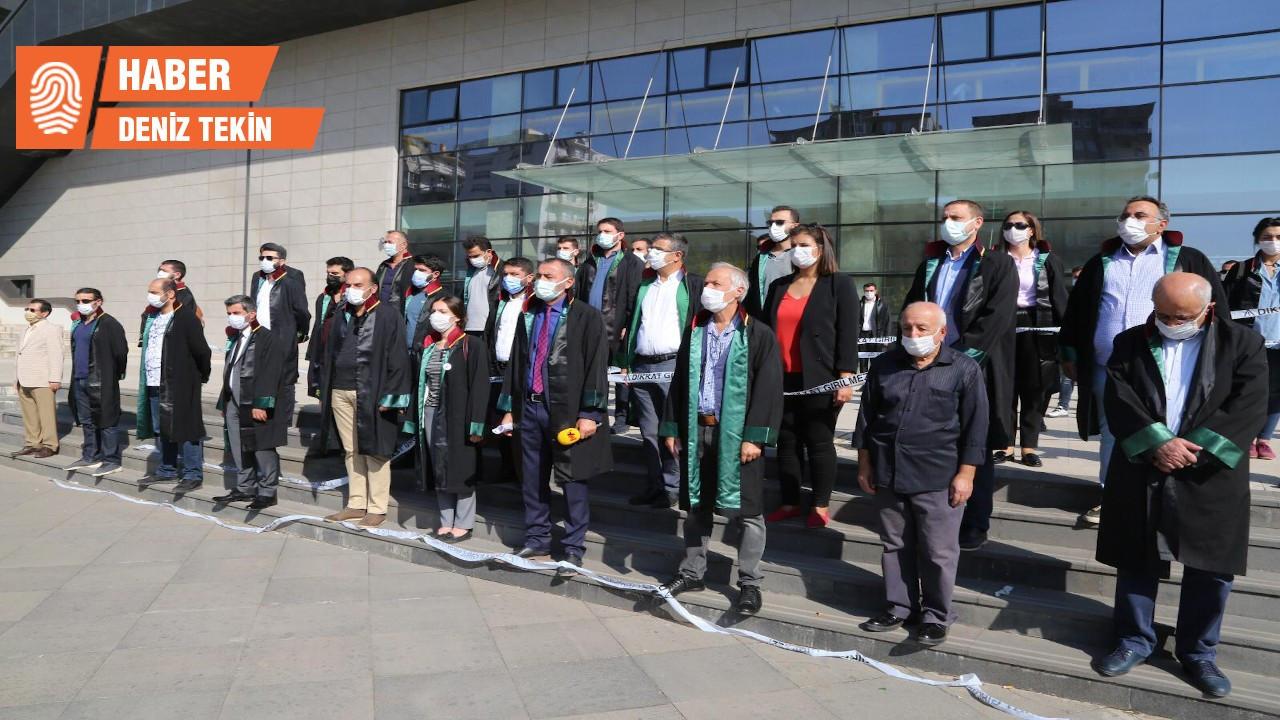 Avukatlar Diyarbakır'da da engellendi