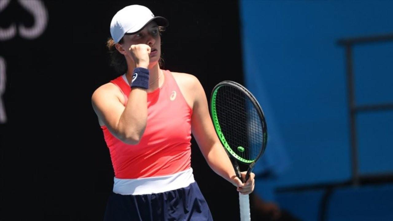Fransa Açık'ta tek kadınlar şampiyonu Polonyalı Iga Swiatek oldu