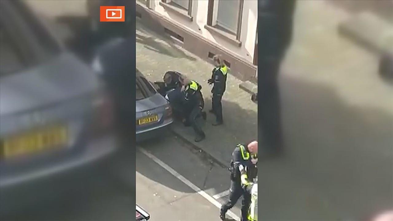 Almanya'da polis şiddeti: Dakikalarca yumrukladılar