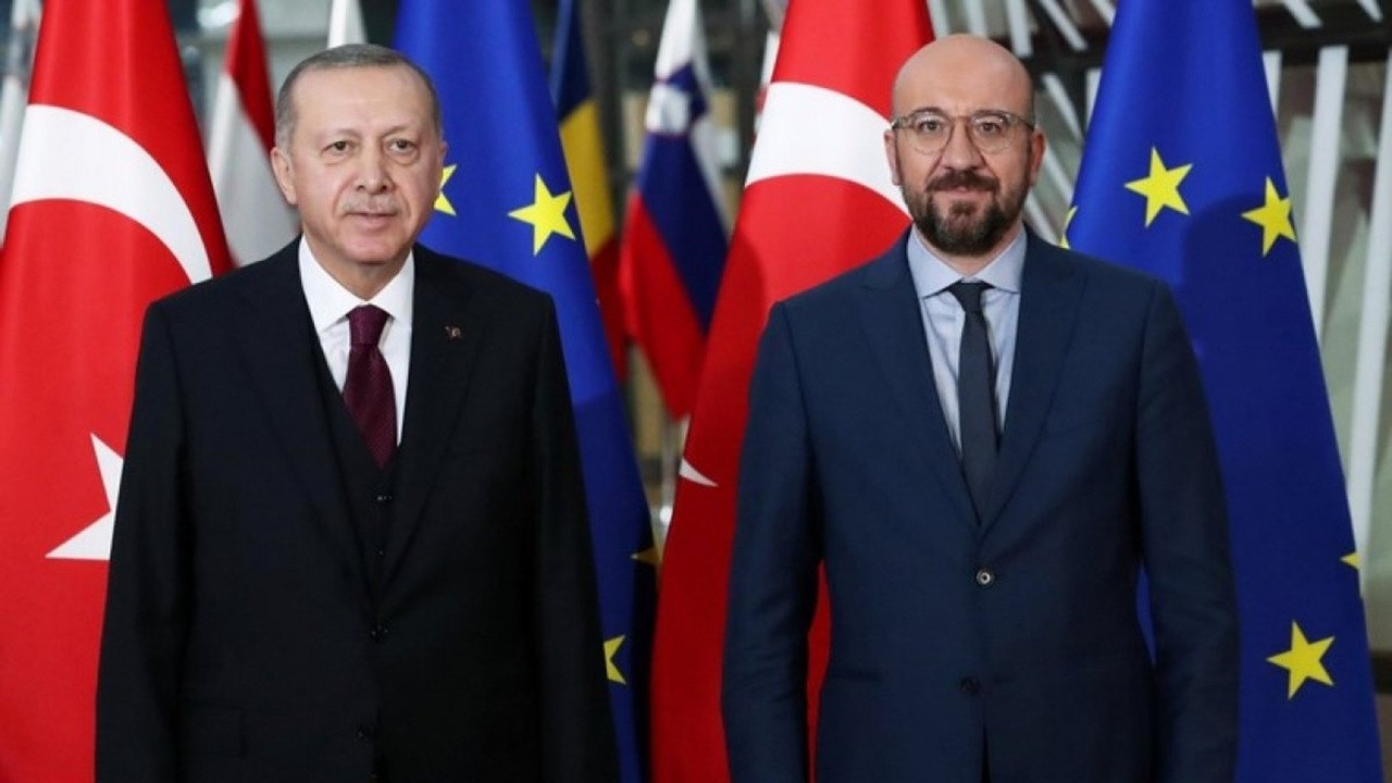 Erdoğan, AB Konseyi Başkanı Michel'le görüştü