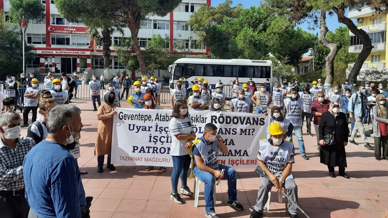 Ankara'ya yürüyen maden işçilerine polis engeli