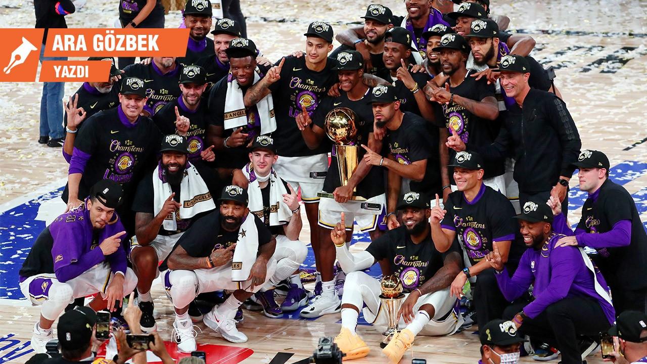Sürprize yer yok, Lakers şampiyon