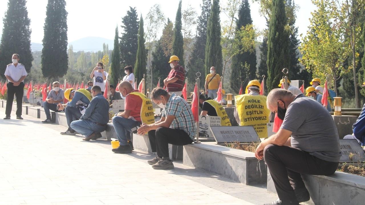 Manisa Valisi ile görüşen madenciler: Geri dönmeyeceğiz