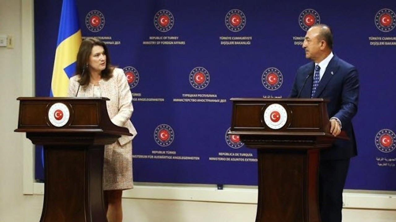İsveç Dışişleri Bakanı ile Çavuşoğlu basın toplantısında tartıştı