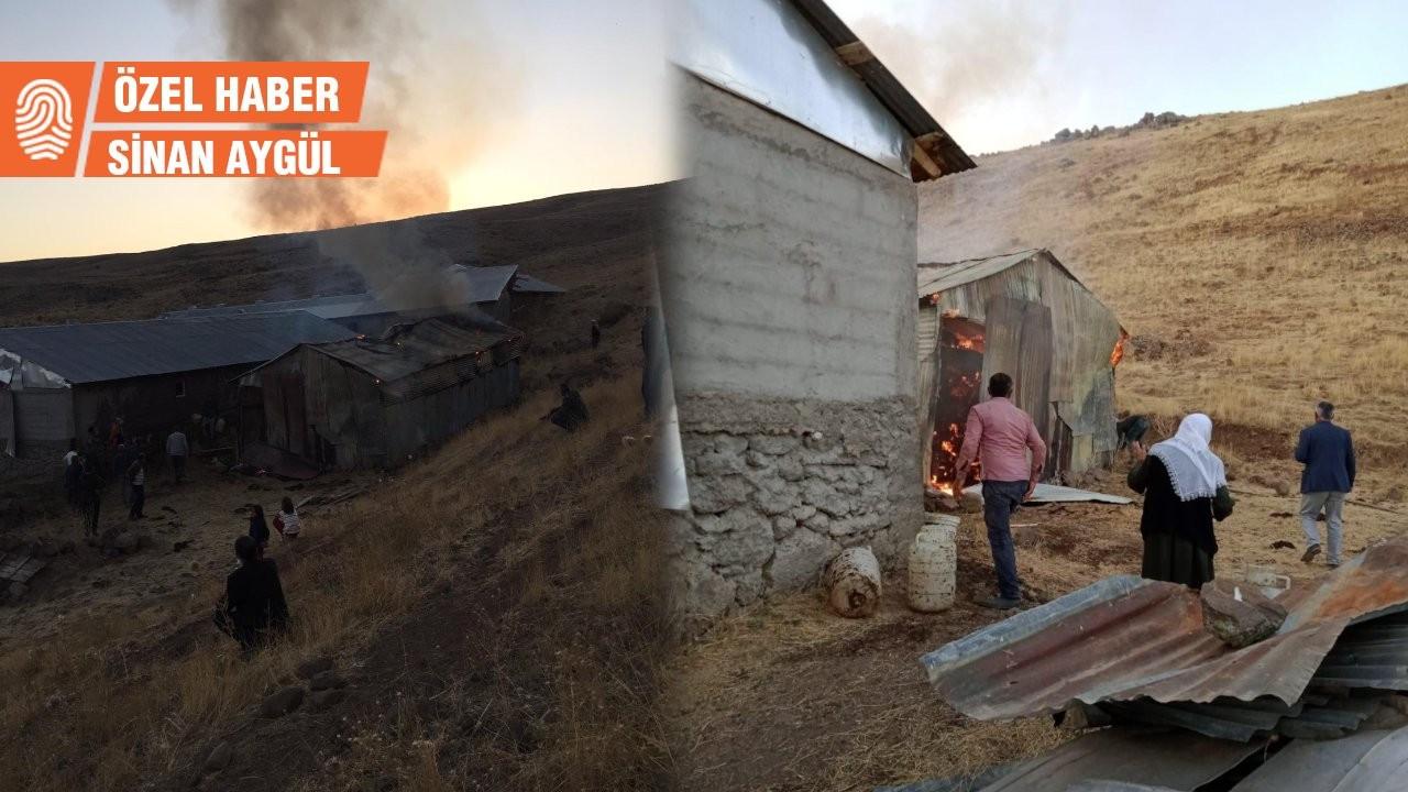 Muş'un Varto ilçesinde esrarengiz olay: 5 günde 5 ahır yakıldı