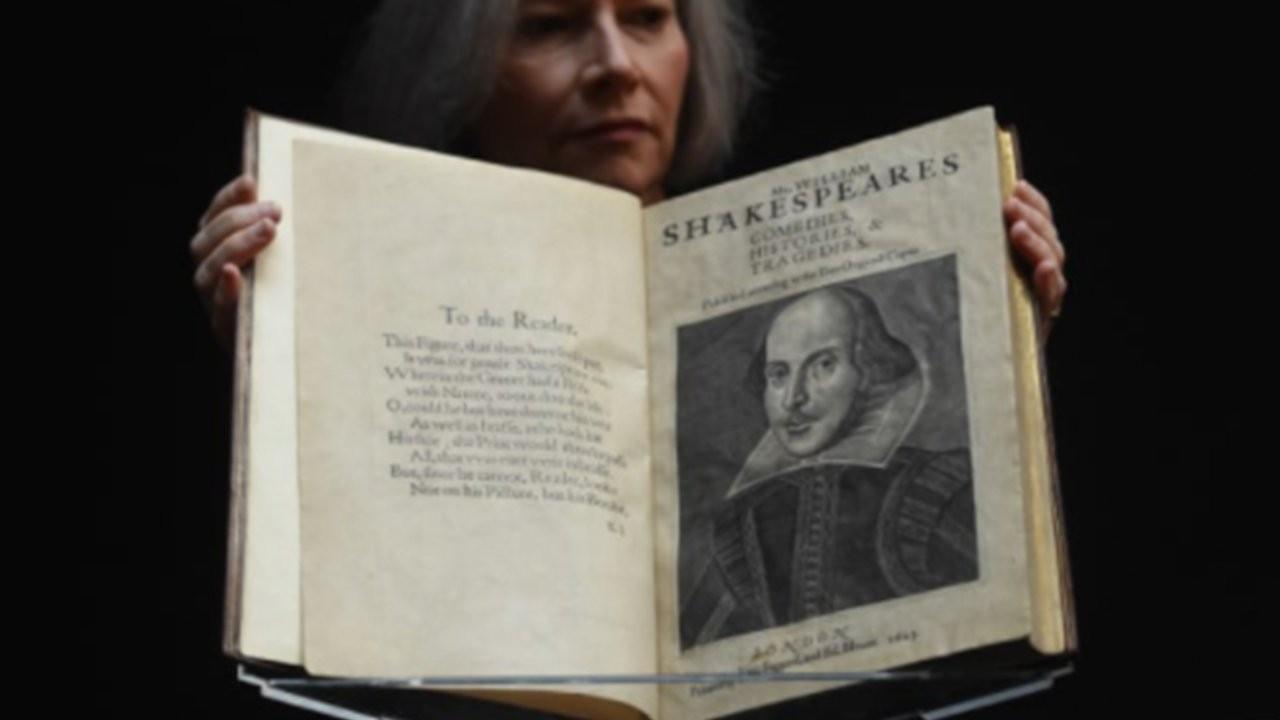 Shakespeare'in kitabı 10 milyon dolara satıldı