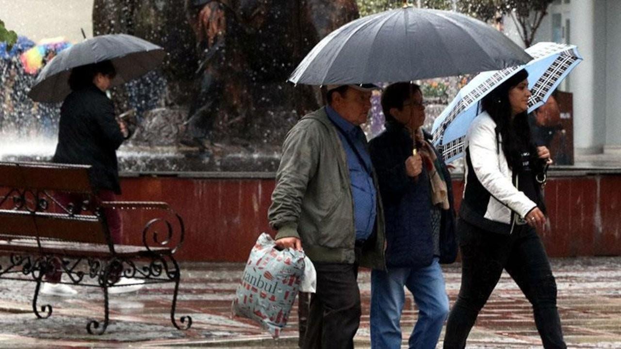 Meteoroloji'den üç il için sağanak uyarısı