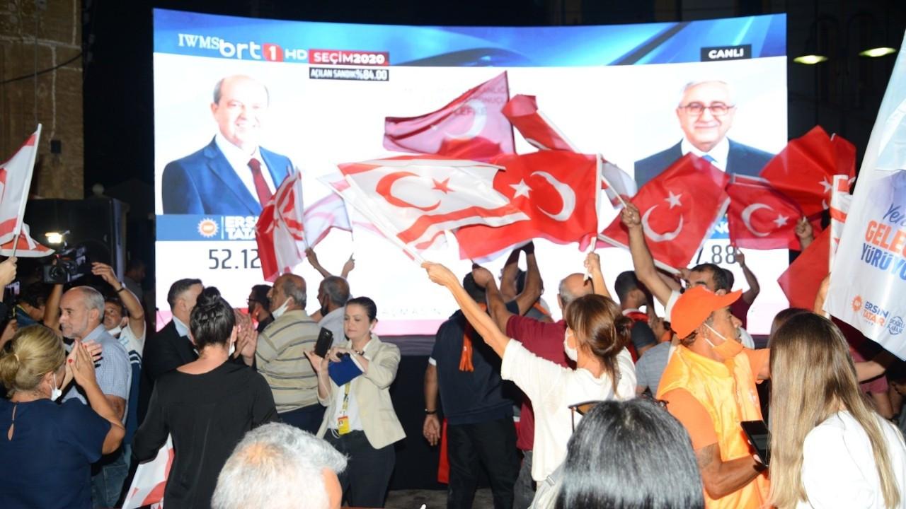 KKTC'de seçimi Ersin Tatar kazandı