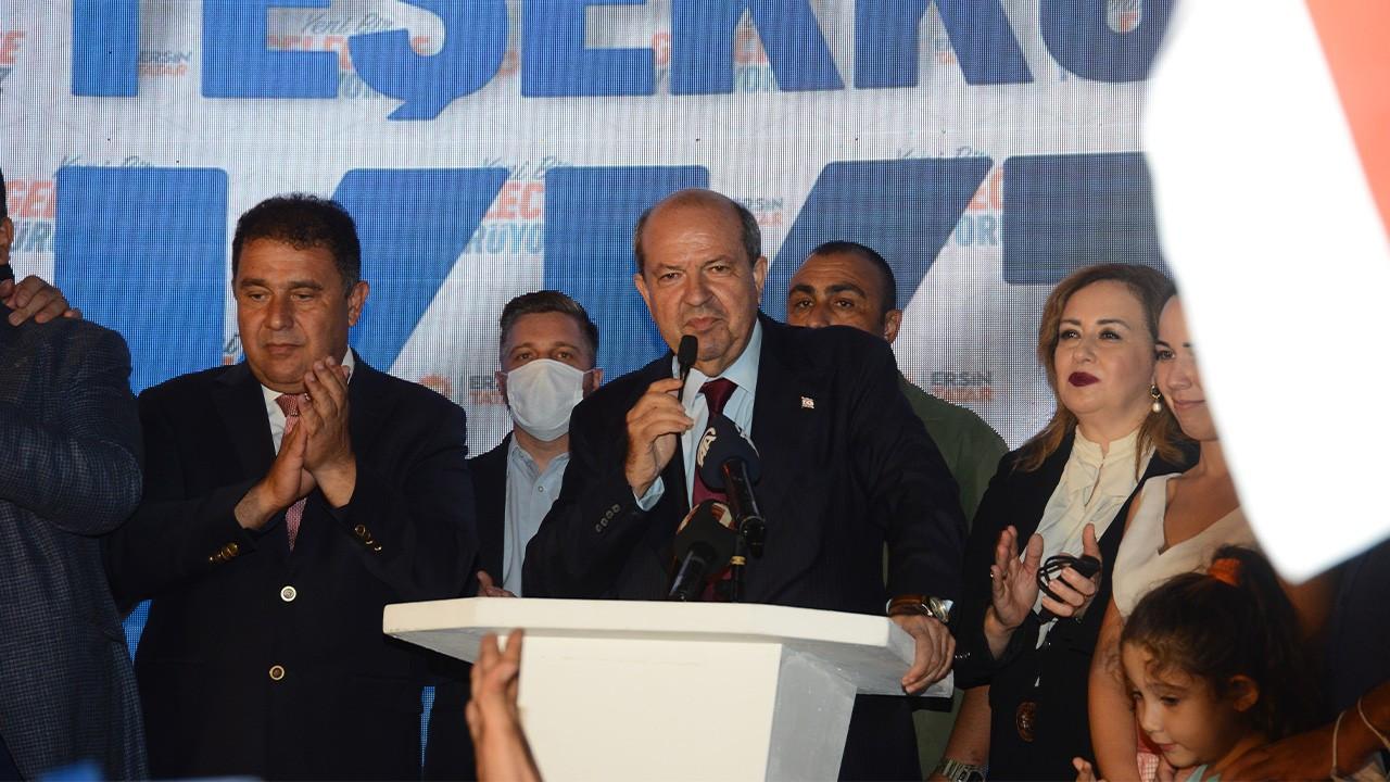 'Müzakere yorgunu Kıbrıs Türkleri Ersin Tatar dedi'