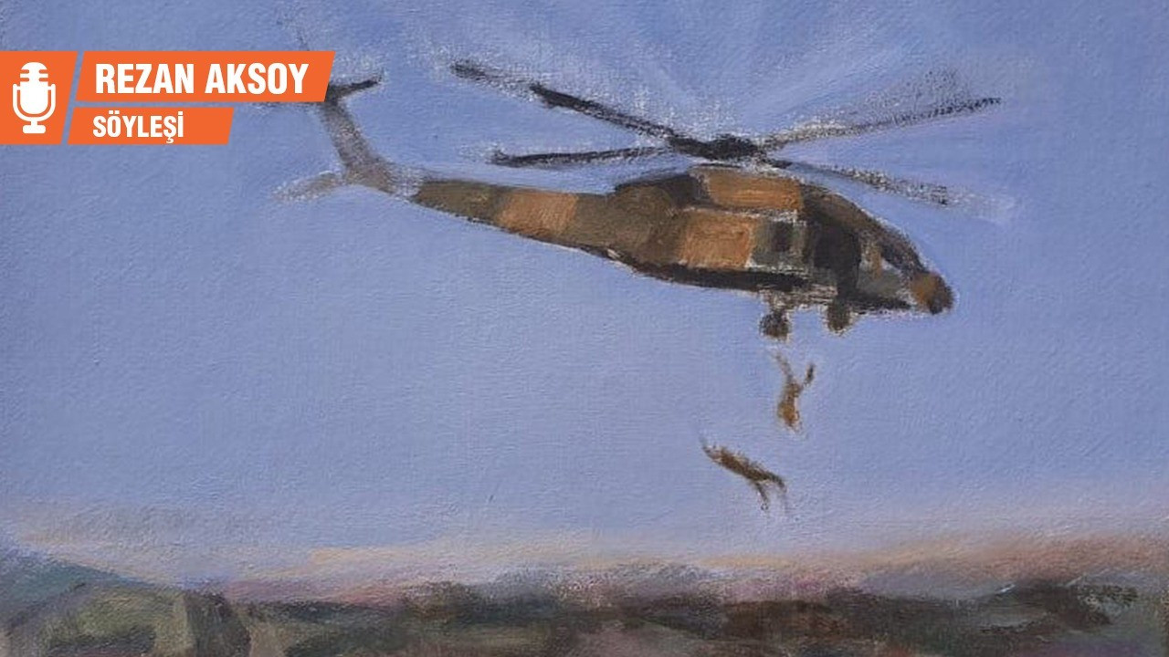 Timur Çelik: 'Helikopter'i boyamak zorundaydım
