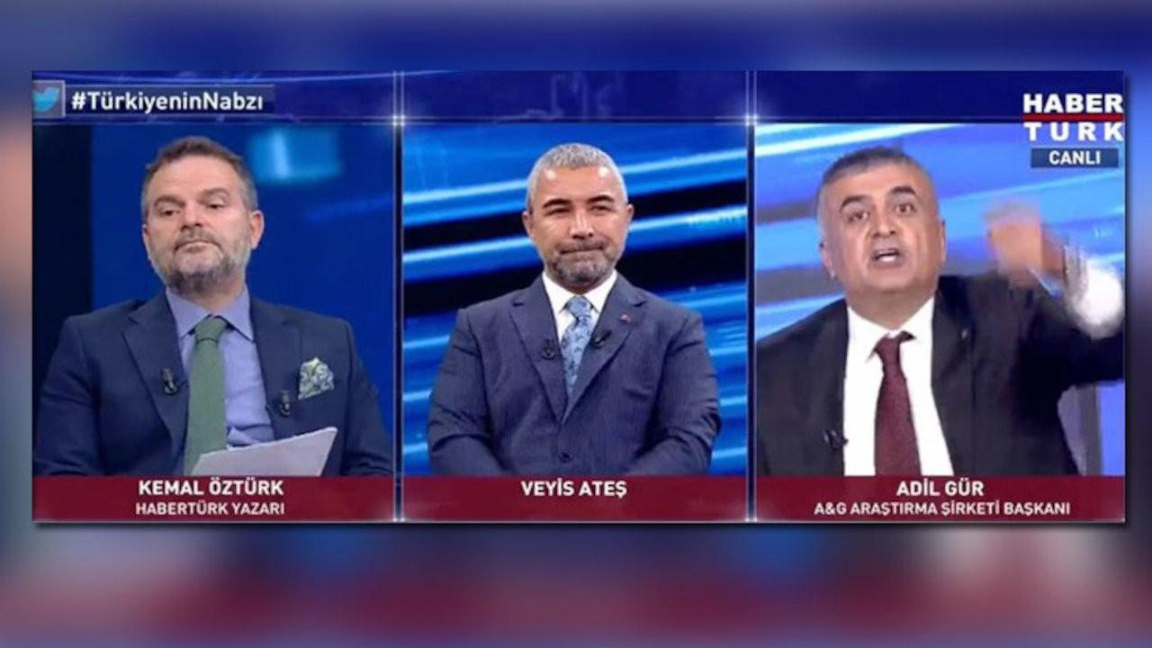 Adil Gür ve Kemal Öztürk televizyonda tartıştı