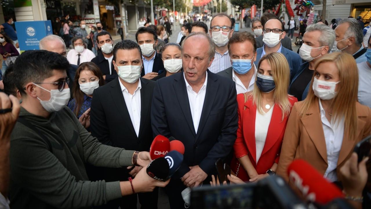 İnce'den yeni parti yanıtı: Millet karar verecek