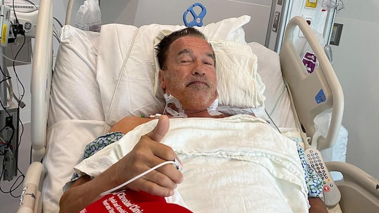 Arnold Schwarzenegger kalp ameliyatı oldu