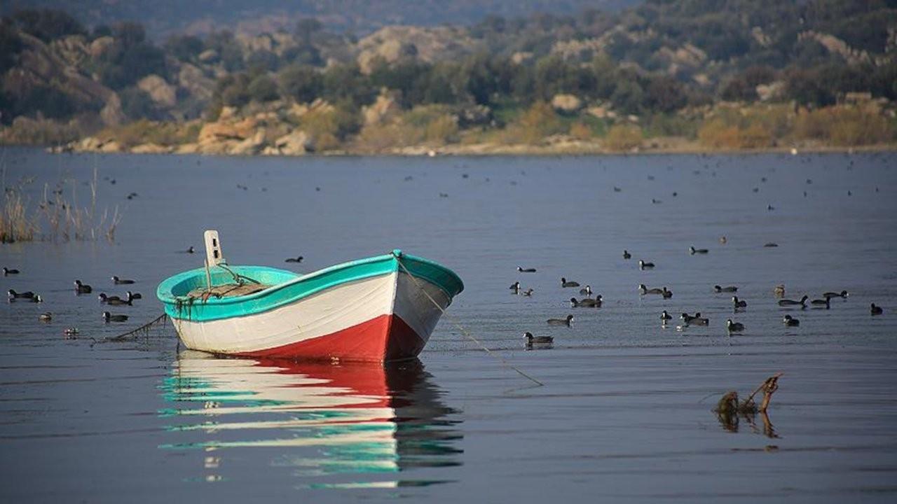 Bafa Gölü nefes aldı