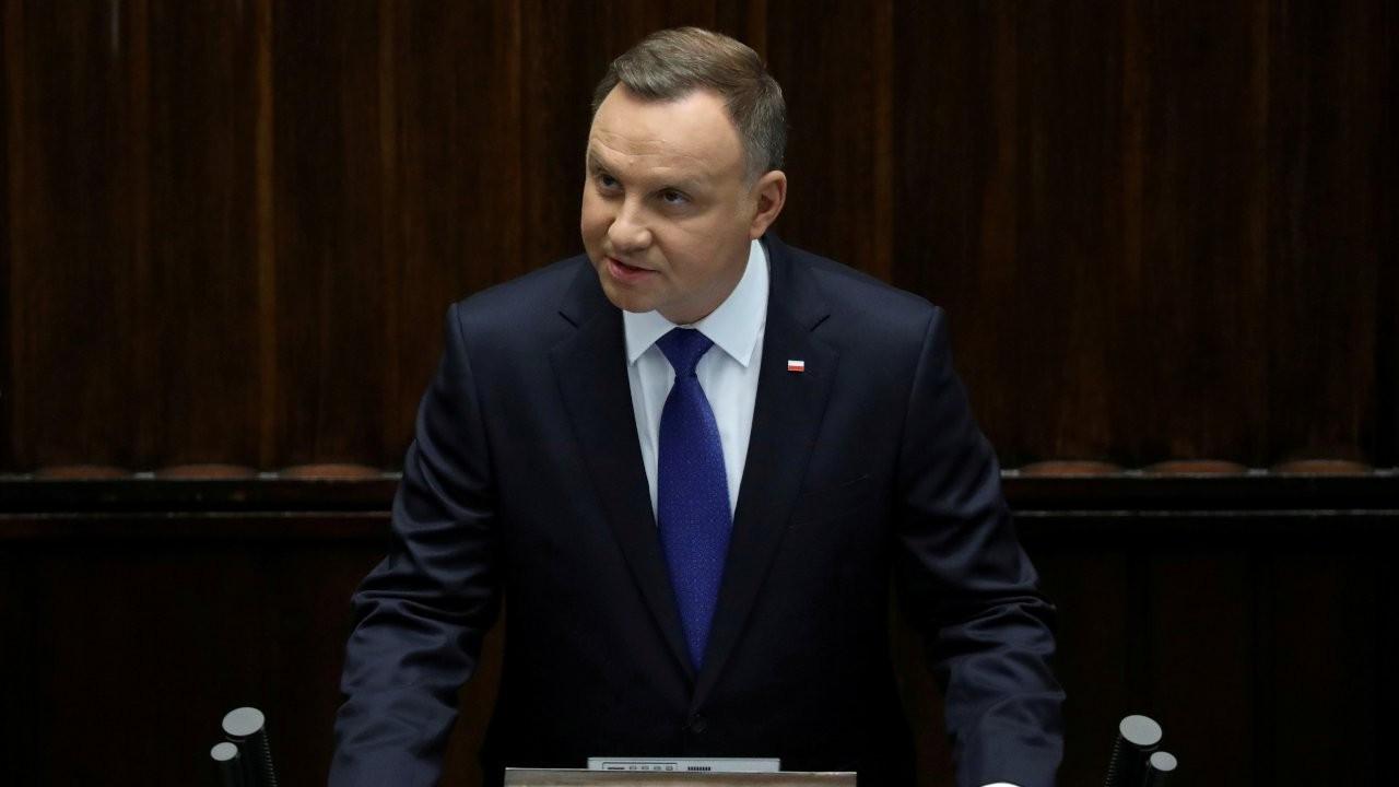 Polonya Cumhurbaşkanı Duda koronaya yakalandı