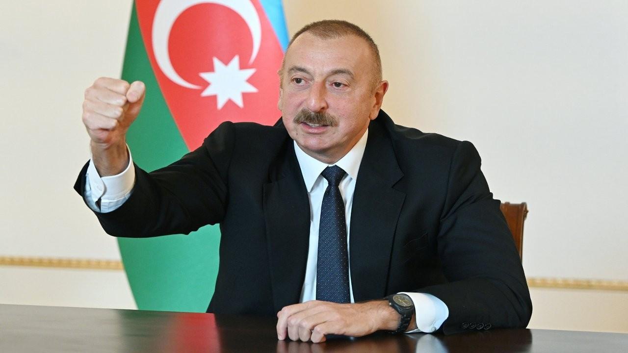 Aliyev: Ateşkesi bir şartla kabul etmeye hazırız