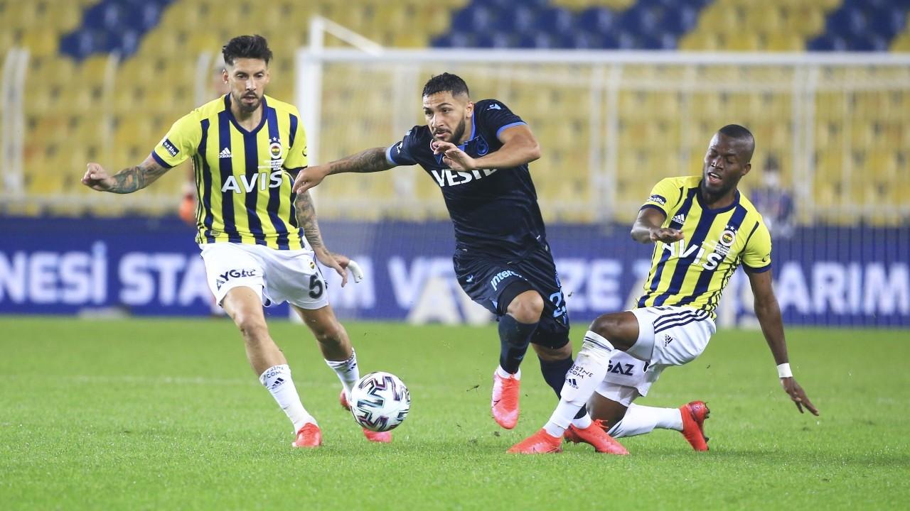Fenerbahçe Trabzonspor'u 3-1 mağlup etti