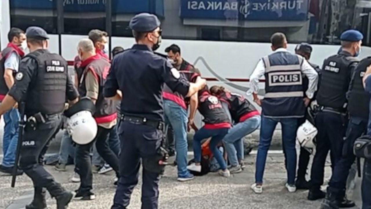 'Yaşamak İstiyoruz'a polis engeli: 17 gözaltı