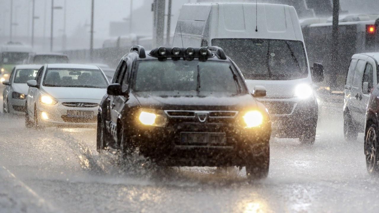 4 il için yağış uyarısı