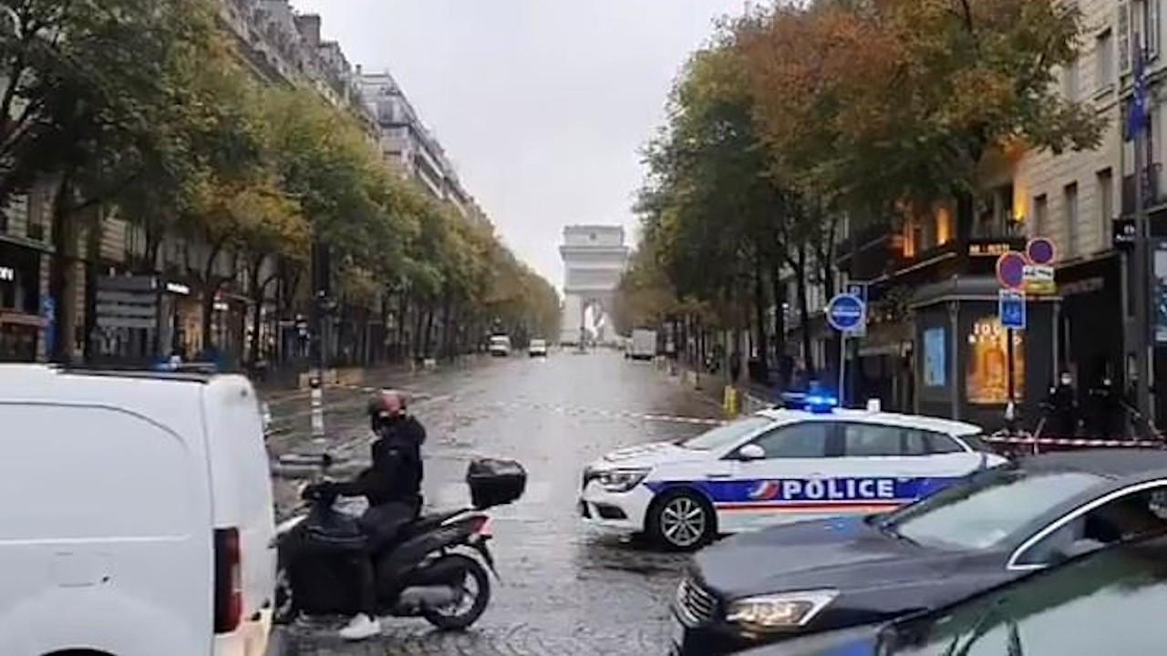 Paris'te bomba alarmı: Mühimmat dolu çanta bulundu