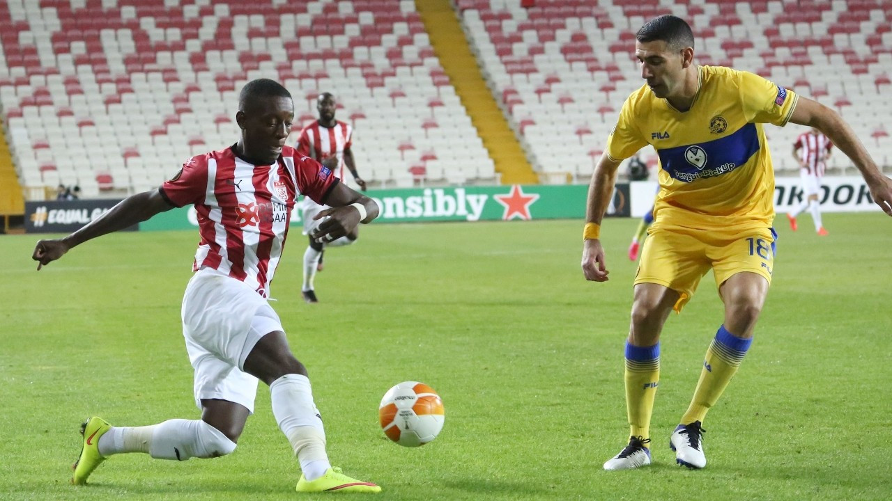 Sivasspor, Maccabi Tel-Aviv'e 2-1 yenildi