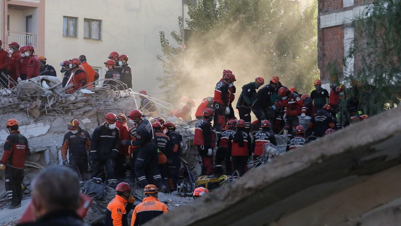 İzmir'de can kaybı 111'e yükseldi