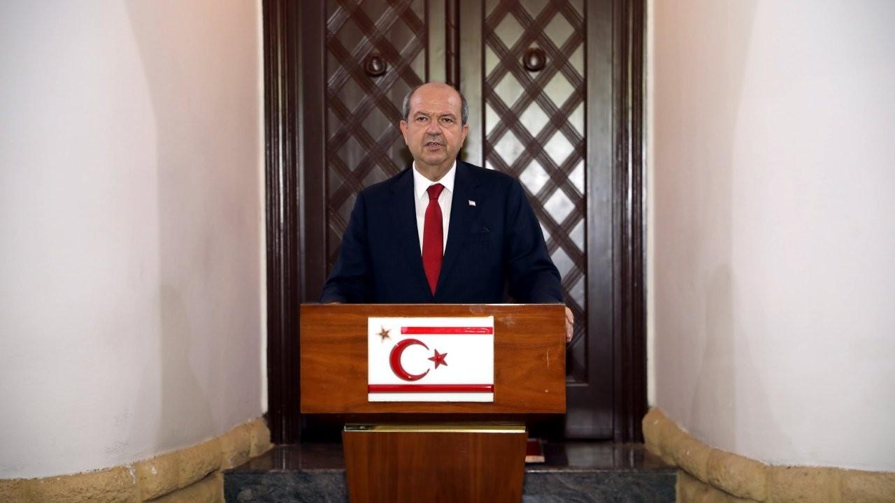 KKTC Cumhurbaşkanı Tatar, Rum lider Anastasiadis ile görüştü