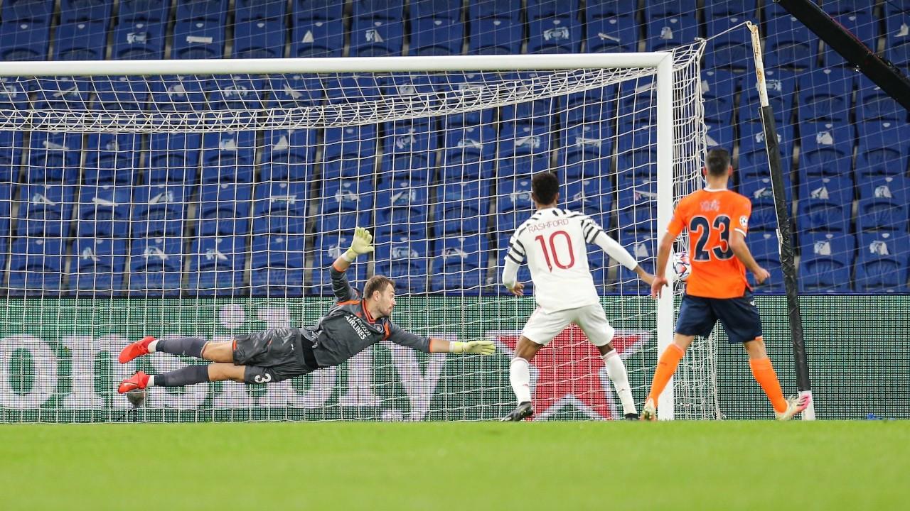 Başakşehir Manchester United'ı 2-1 mağlup etti