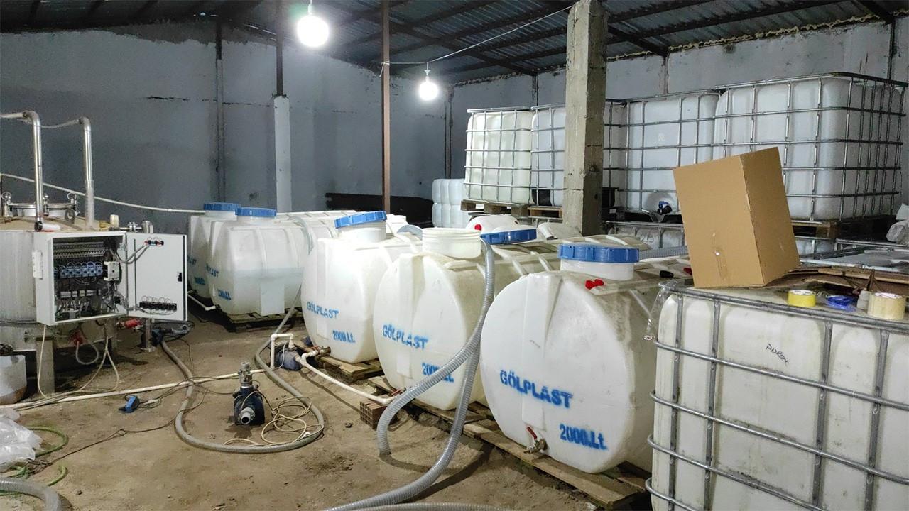 20 ayda yaklaşık 1,5 milyon litre sahte alkol yakalandı