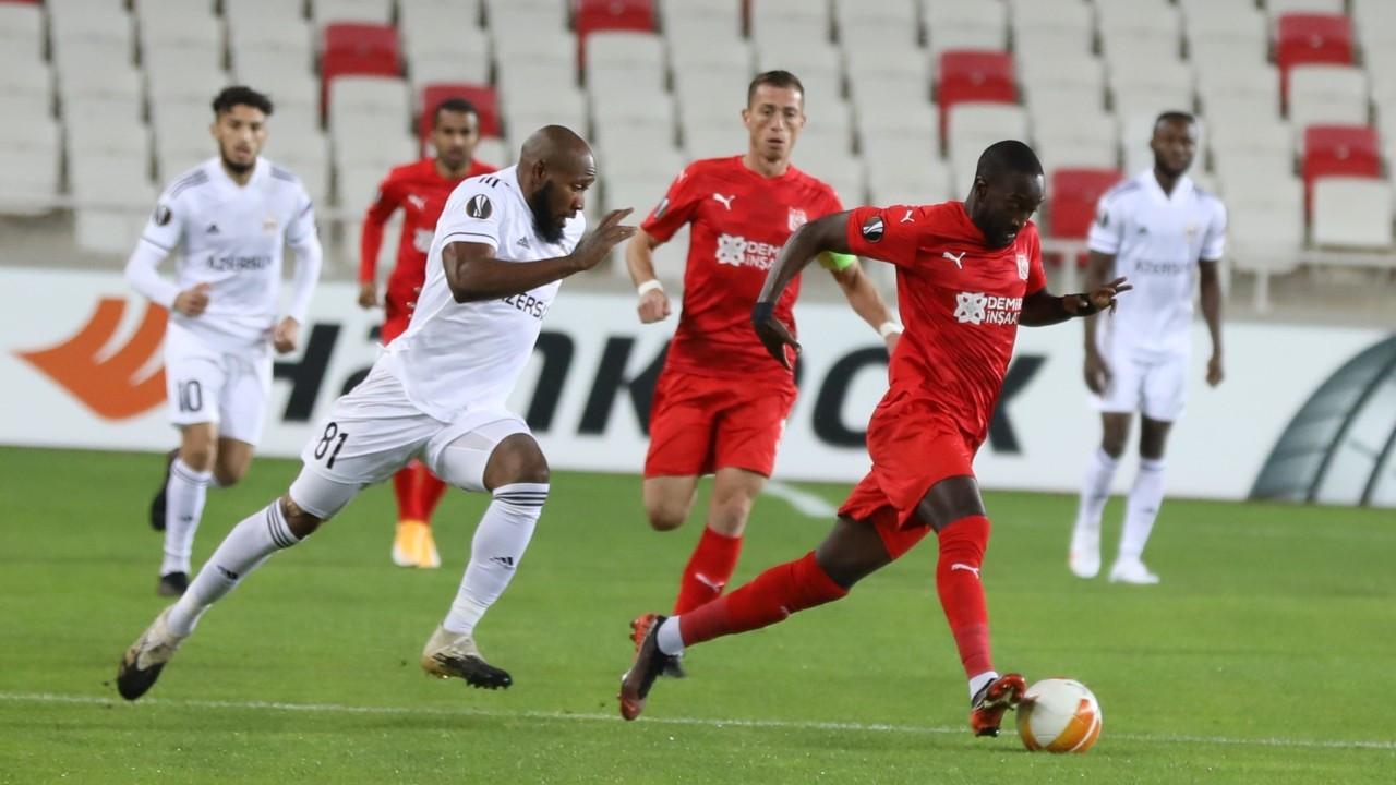 Sivasspor, UEFA Avrupa Ligi'nde ilk puanlarını aldı