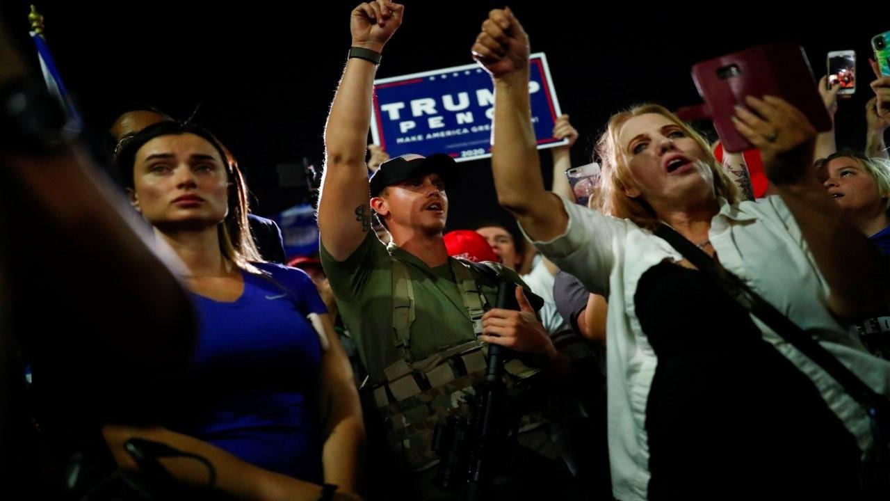 CNN: Silahlı Trump yanlılarına karşı 'çıkış planı' yapılıyor