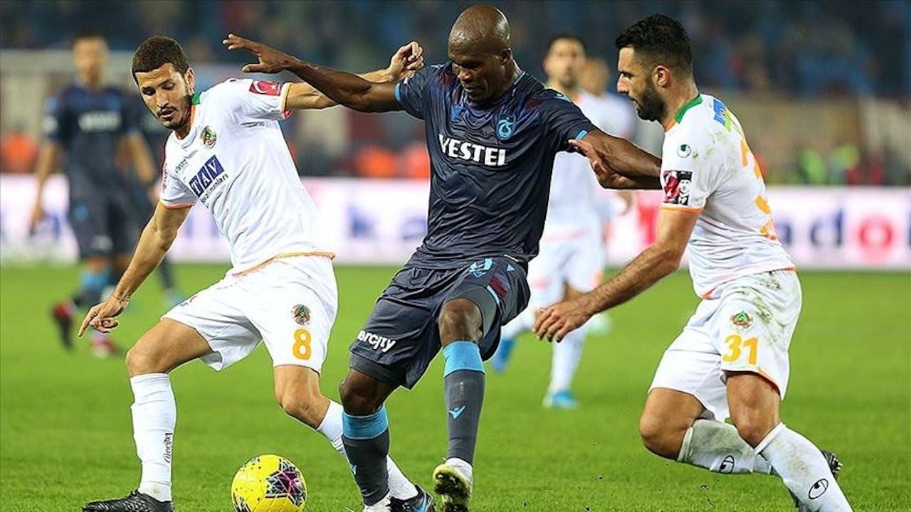 Trabzonspor ile Aytemiz Alanyaspor 9. randevuda