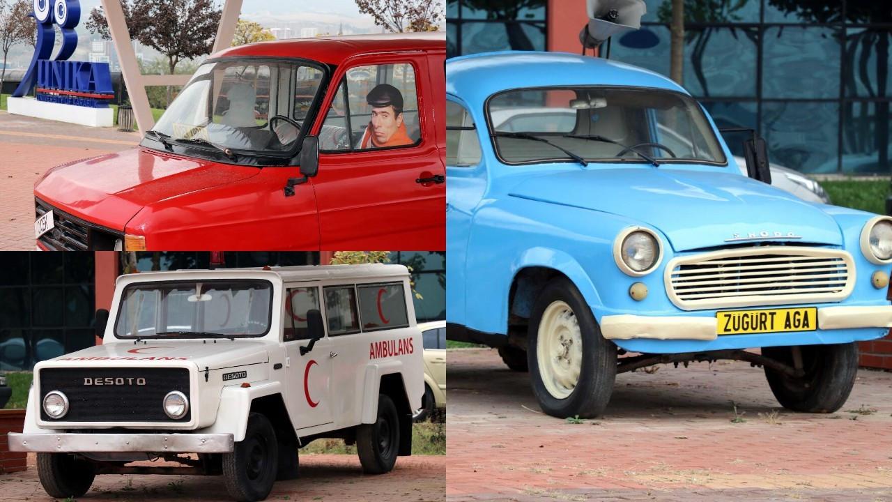 Nostaljik araç müzesi: Züğürt Ağa'nın arabası Çiçek Abbas'ın minibüsü