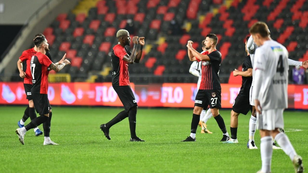 Gaziantep FK, Beşiktaş'ı mağlup etti