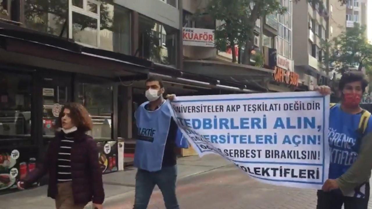 YÖK protestosunda 30'u aşkın gözaltı