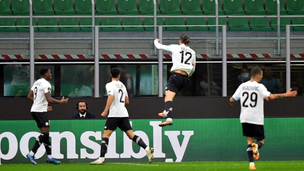 Milan 0 - 3 Yusuf Yazıcı
