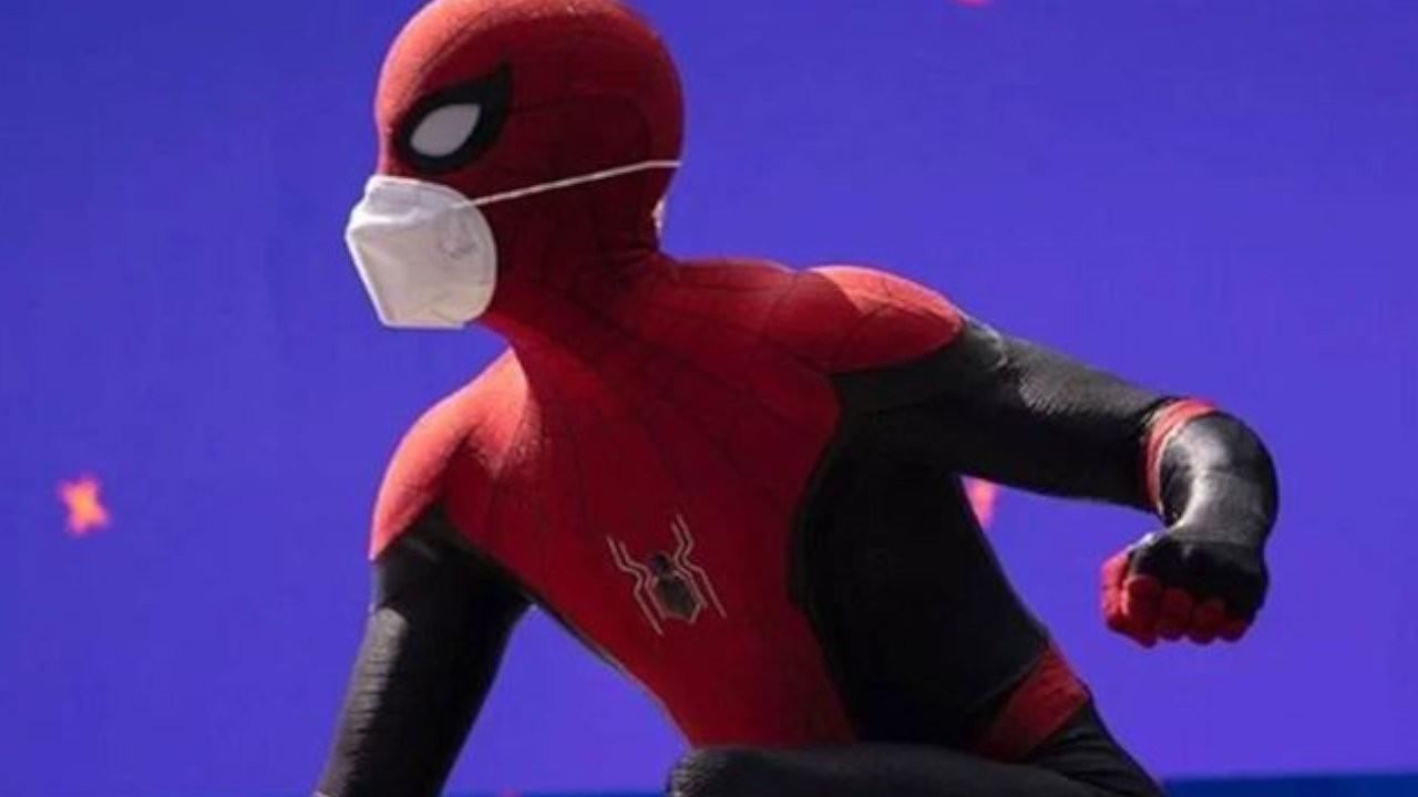 'Örümcek Adam 3' setinden ilk fotoğraf paylaşıldı