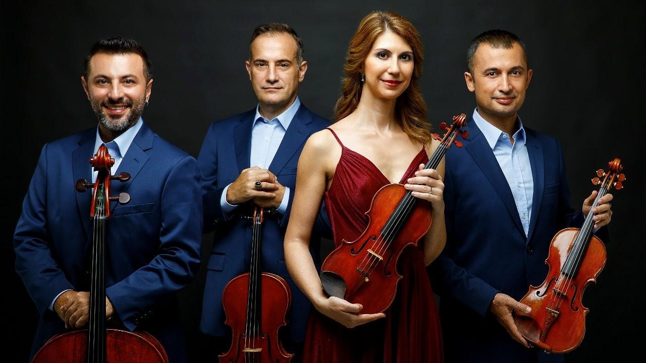 Borusan Quartet canlı yayında Borusan Klasik'te