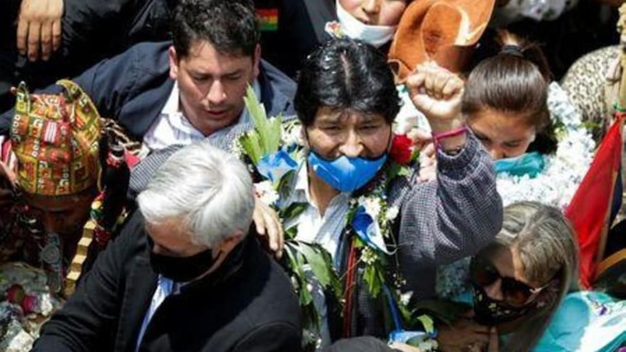 Morales bir yıl sonra Bolivya'ya döndü