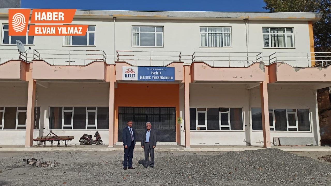 Hitit Üniversitesi'nin 1.5 milyon TL harcanan yeni binası çürük çıktı