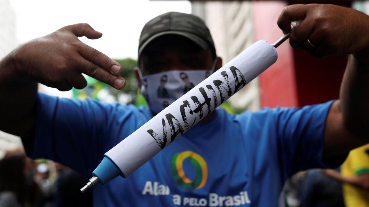 Türkiye'de de denenen Çin aşısı Brezilya'yı karıştırdı