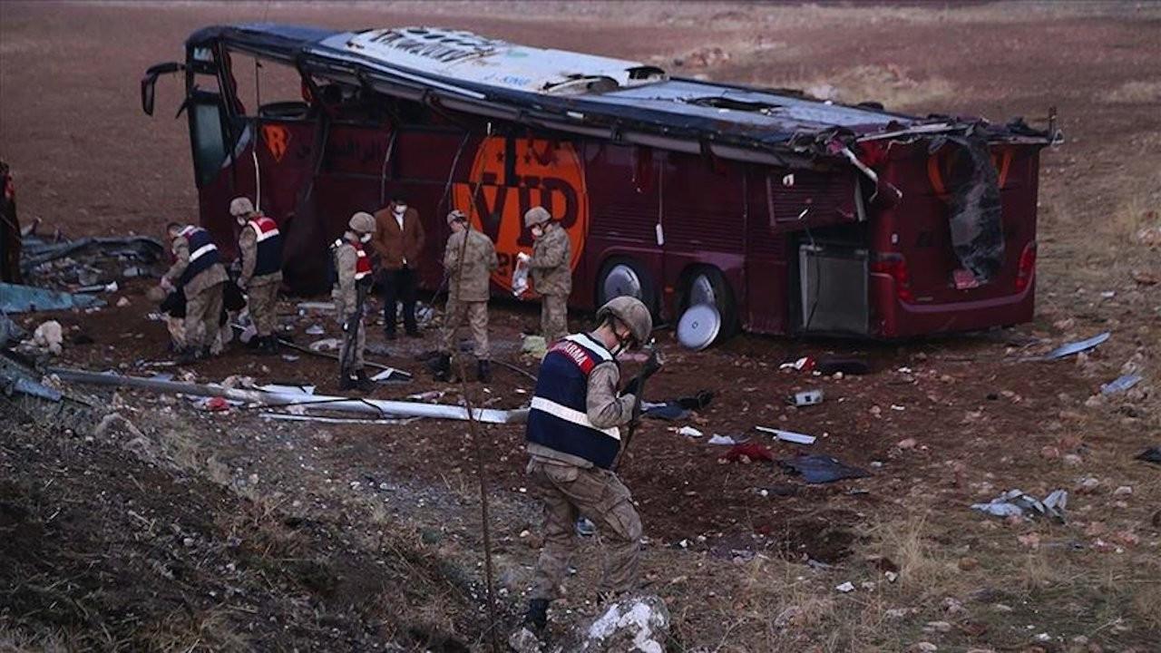 Şanlıurfa'da otobüs devrildi: 1 ölü, 28 yaralı