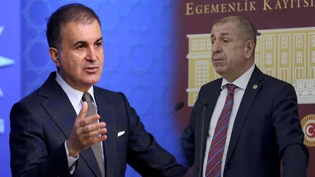 Ümit Özdağ: AKP-İYİ Parti görüşüyor... Ömer Çelik: Ahlaksız yalan