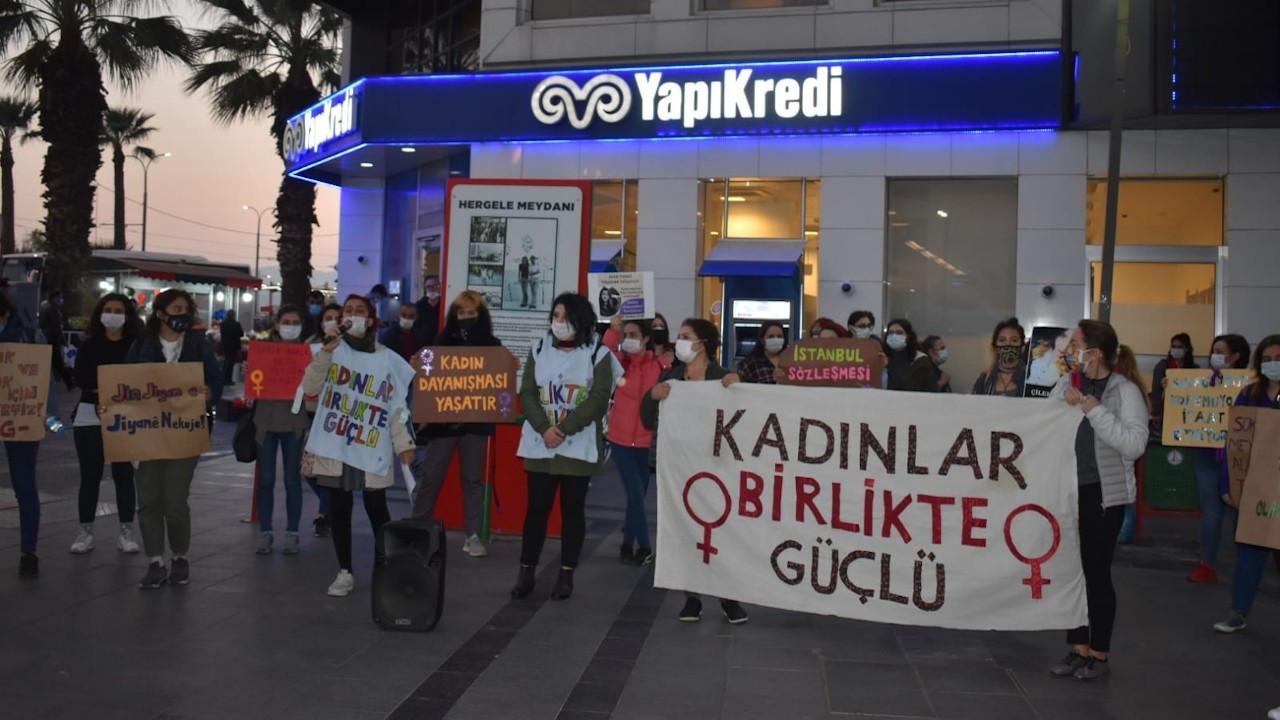 Tokbaş'ın katledilmesi İzmir'de protesto edildi