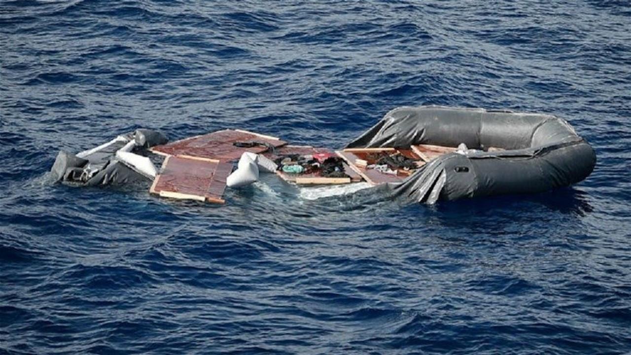 Akdeniz'de göçmen teknesi battı, en az 43 kişi öldü