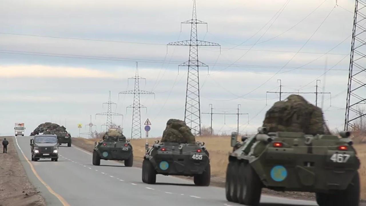 Rus askerleri, Dağlık Karabağ'da devriye görevine başladı